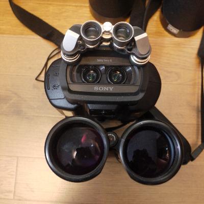 DEV-3と光学双眼鏡